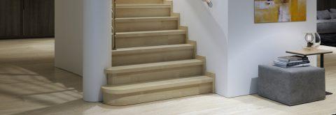 Alla trappor är noggrant konstruerade och håller högsta standard.